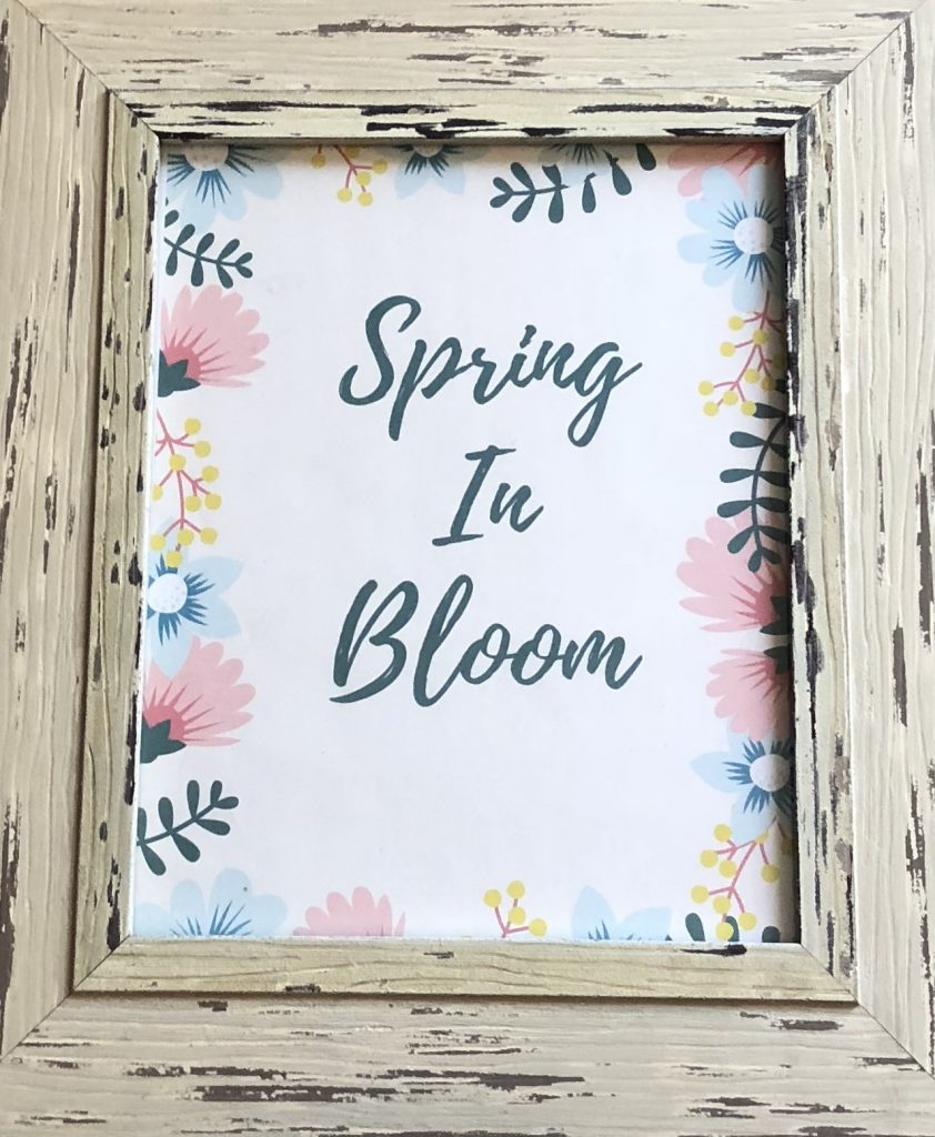 spring decor refresh for less