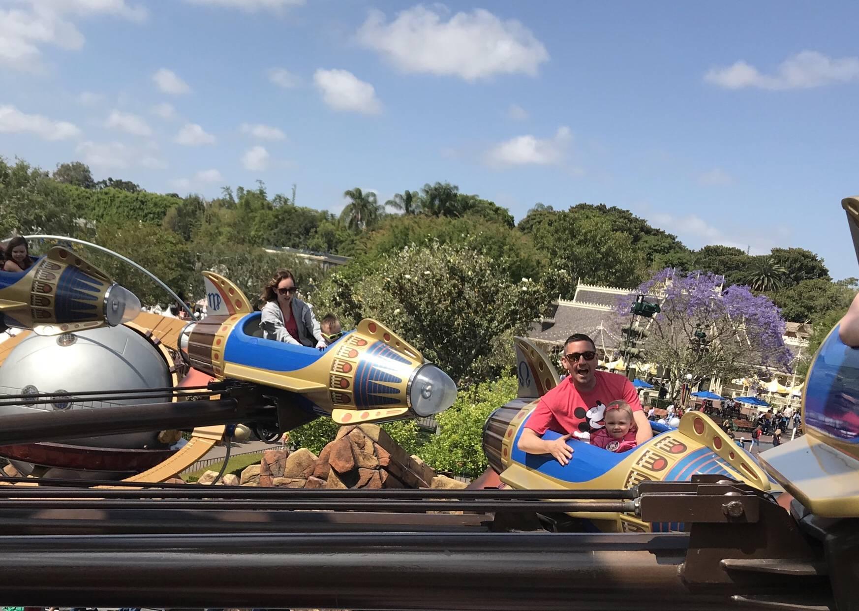 Rides at Disneyland