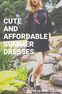 Cute and affordable summer dresses for all occasions #summerstyle #dresses #ootn #summerdress