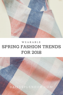 Wearable spring fashion trends #fashion #everydayfashion #springstyle