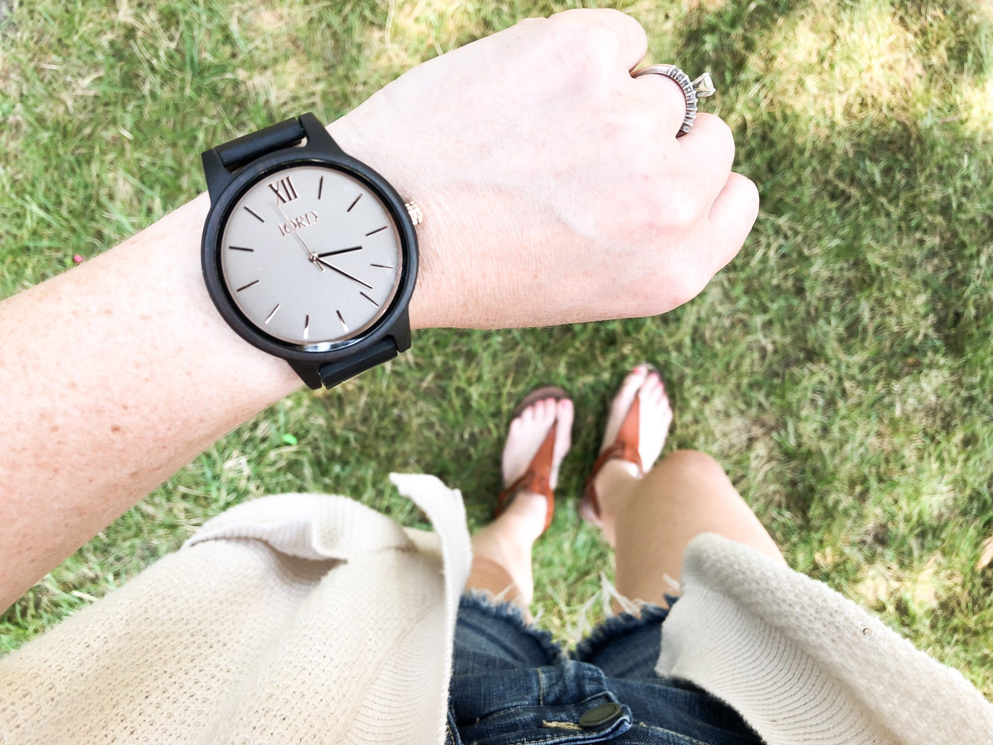 A favorite everyday accessory #jordwatch #woodenwatches