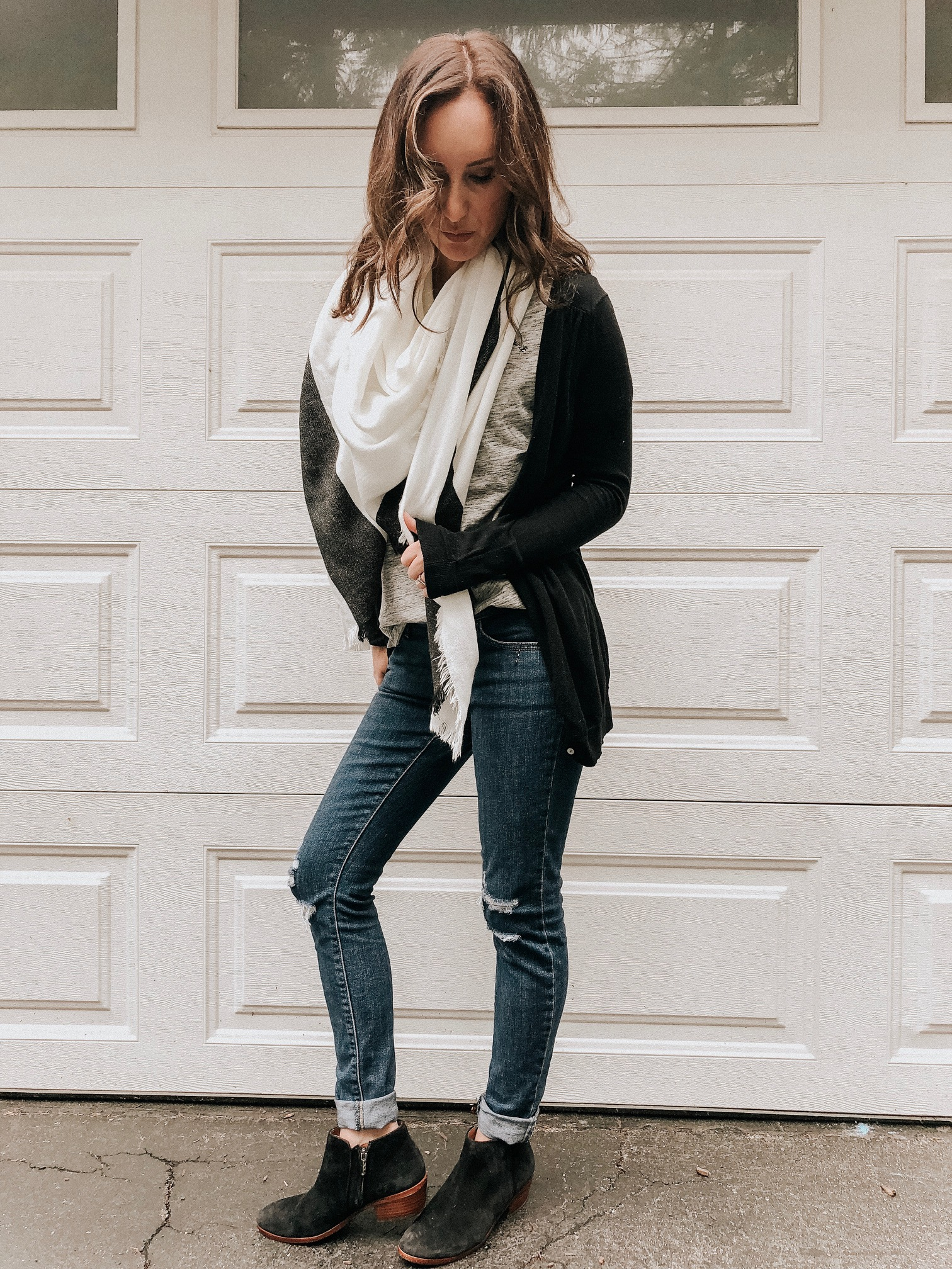 Must have items to complete your fall looks - suede booties #falllooks #fallstyle #booties