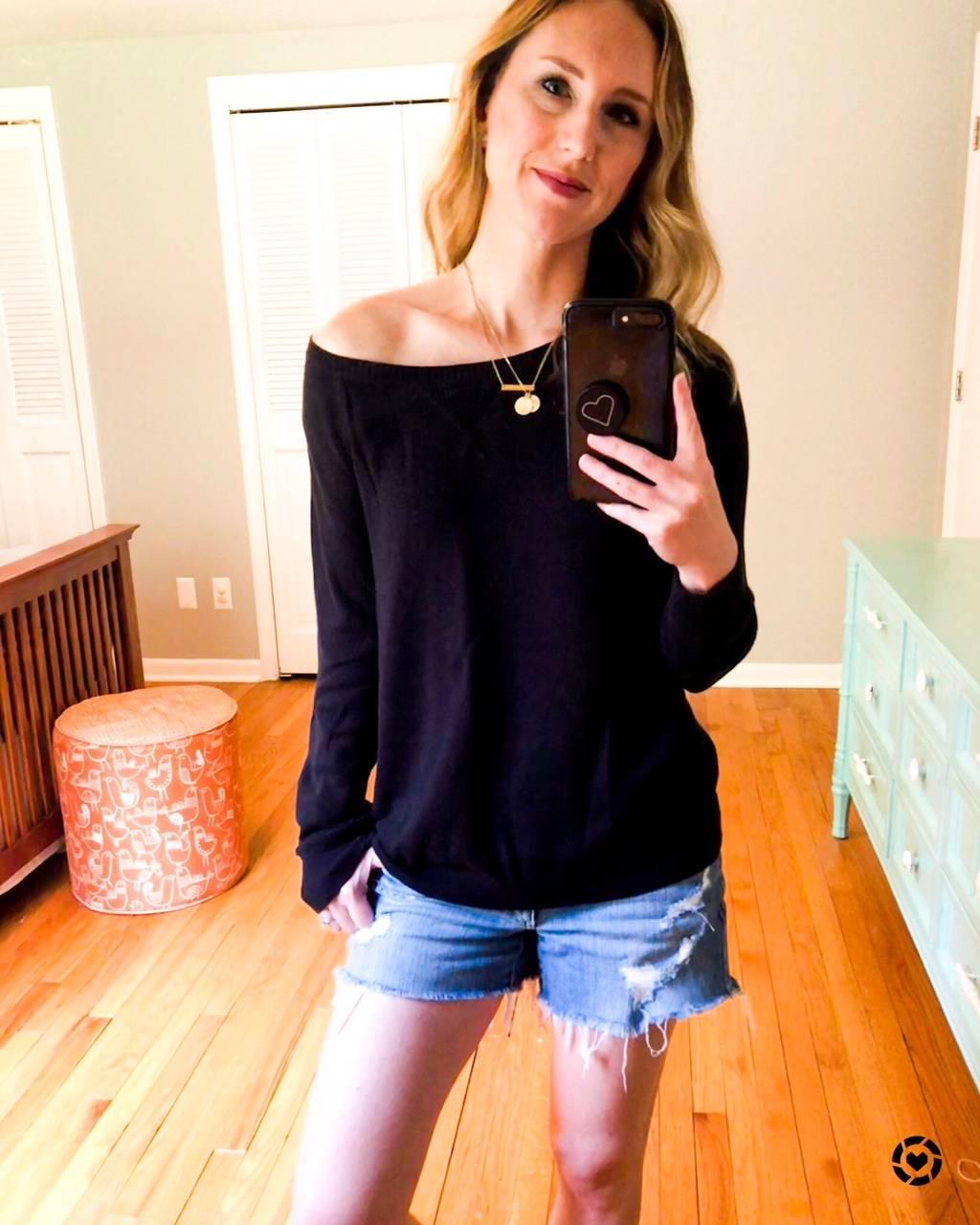 Daily Splendor - August Instagram Roundup #casualllook #fashion #sweater