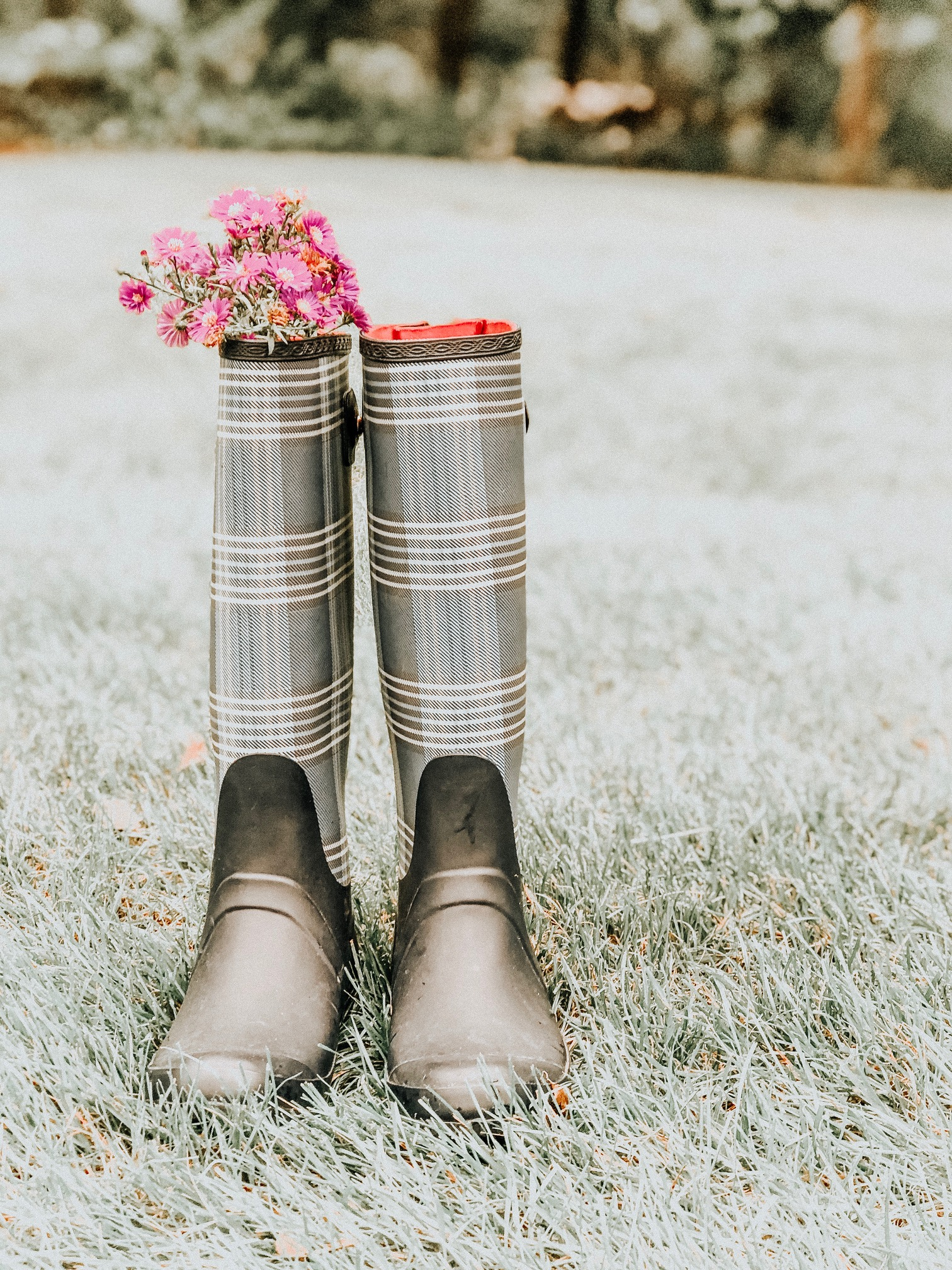 Cute Rain Boots #rainboots #fallfashion #fallstyle #rainydays