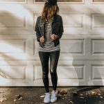 Faux leather leggings styled 3 ways