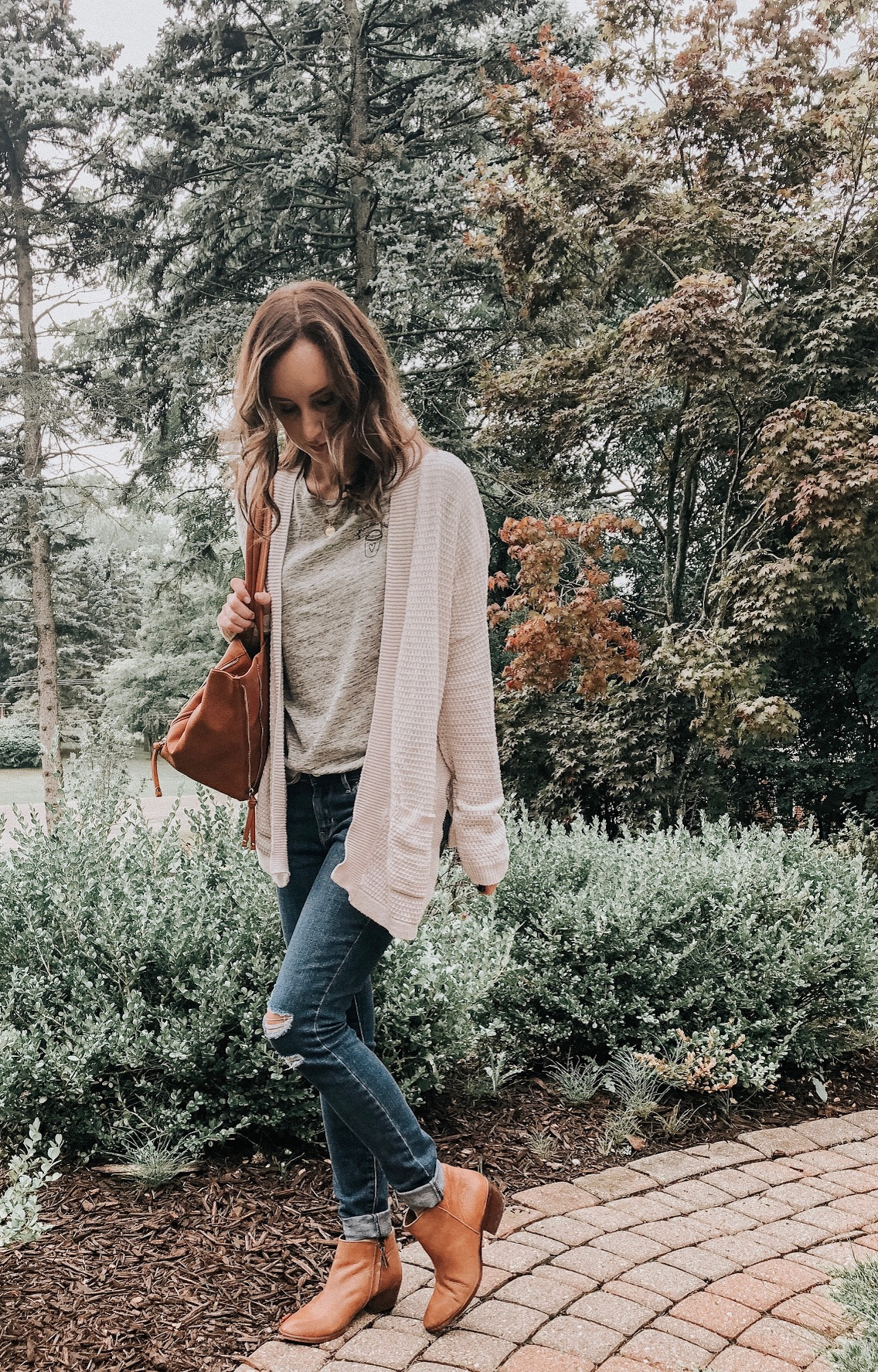 Fall Instagram Favorites | Daily Splendor Life and Style Blog | distressed denim, sweater, booties, tote bag #casualstyle #casualoutfit #momstyle #everydayfashion #fallstyle #fallneutrals
