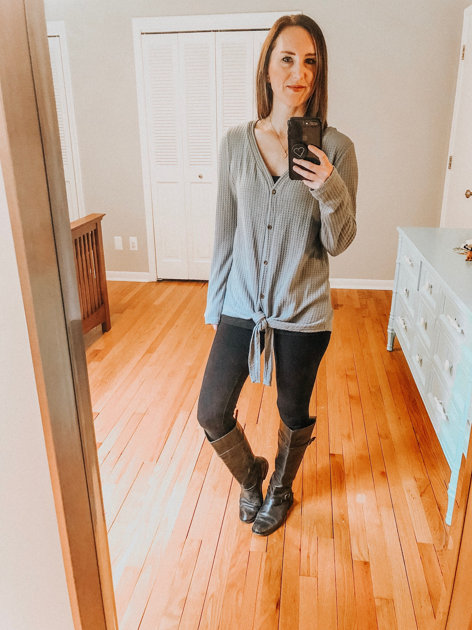 Fall Instagram Favorites | Daily Splendor Life and Style Blog | Therma, leggings and riding boots #casualstyle #casualoutfit #momstyle #everydayfashion #fallstyle #fallneutrals