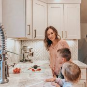 Kids Cooking | Daily Splendor Life and Style Blog #familytime #familycooking #kidscooking
