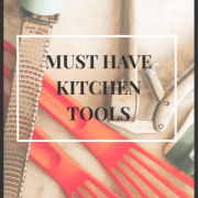Must Have Kitchen Tools | Daily Splendor Life and Style Blog #utensils #kitchen #homecook #cooking