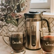 Friday Splendors 11/9 | Daily Splendor Life and Style Blog || Kitchens, coffee, coffee mugs, mornings #frenchpress #coffee #butfirstcoffee