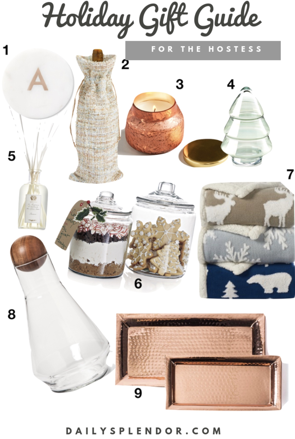 2018 Holiday Gift Guide | Daily Splendor Life and Style Blog || candles, anthropologie, target, home decor, #giftguide #holidaygiftguide #2018giftguide #hostessgifts #hostessgiftideas #crateandbarrel #nordstrom #target