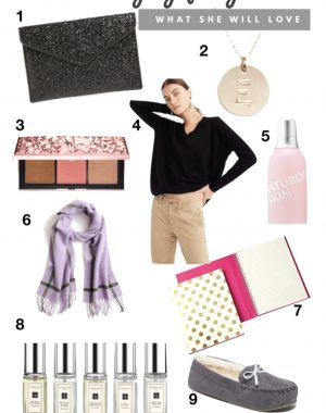 2018 Holiday Gift Guide for Women | Daily Splendor Life and Style Blog | #giftguide #holidaygiftguide #2018giftguide #womensgiftideas #jcrew #nars #sephora #nordstrom