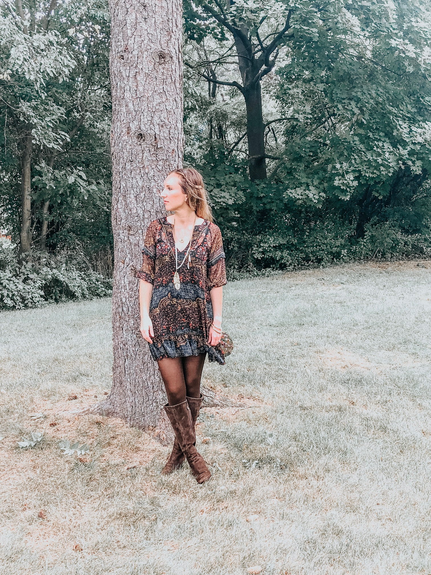 Fall Instagram Favorites | Daily Splendor Life and Style Blog | Boho Style Outfit #casualstyle #casualoutfit #momstyle #everydayfashion #fallstyle #fallneutrals