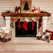 Holiday Decor Tips and Ideas | Daily Splendor Life and Style Blog | Mantel Decor, fireplace, stockings, holidays, christmas #cozyhome #christmasdecor #christmasmantel #christmasdecor