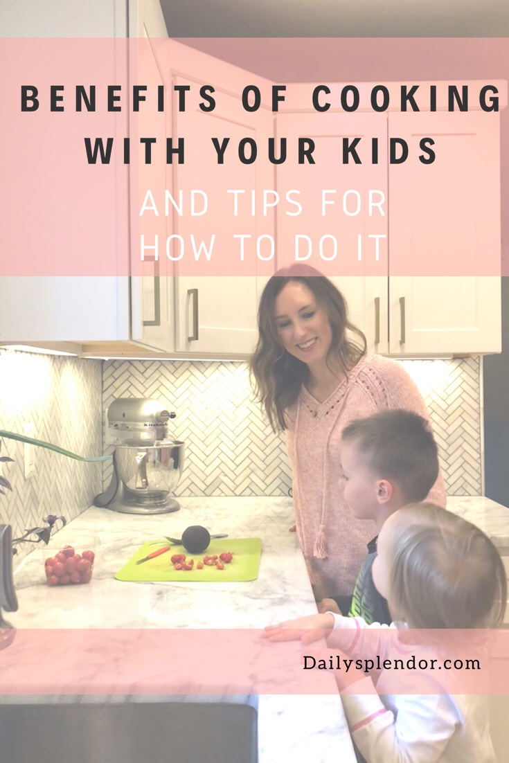 Getting Your Kids Cooking | Daily Splendor Life and Style Blog | family, cooking, kitchen, kids #familytime #familycooking #kidscooking