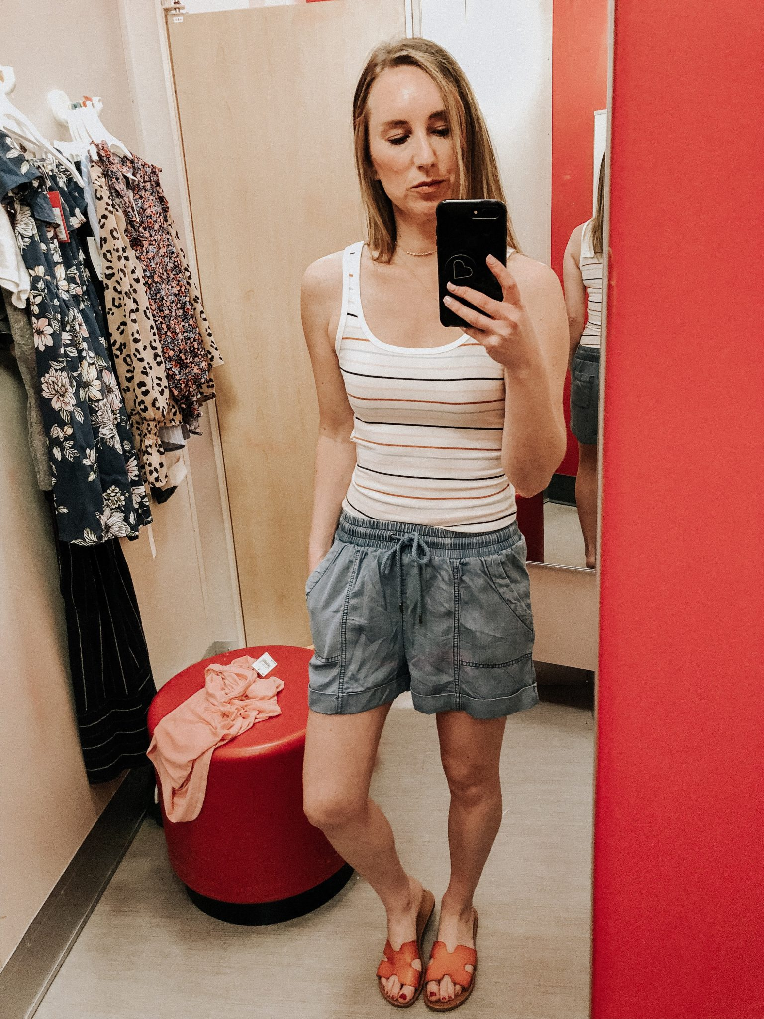 May Target Try On | Daily Splendor Life and Style Blog || spring outfit, band tshirt, crop jeans, target clothes, #springoutfit #springstyle #targettryon