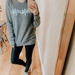 Graphic Sweatshirt Try On