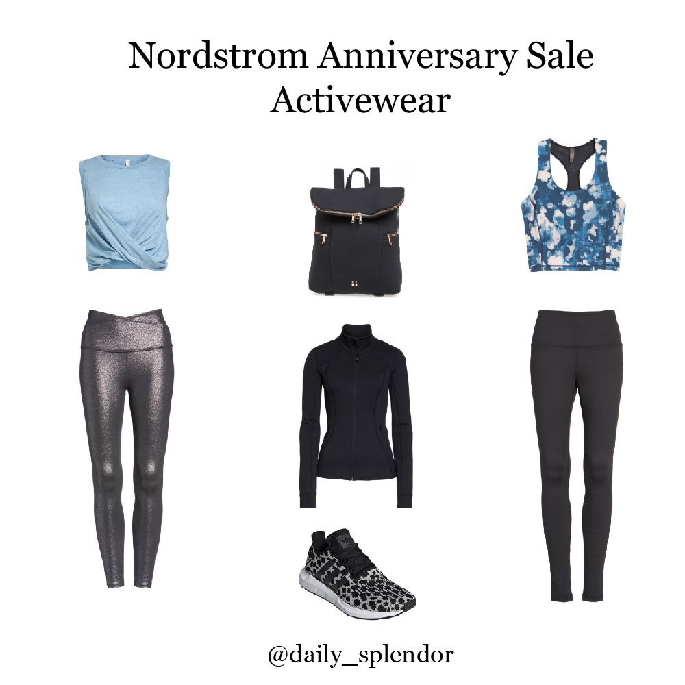 Nordstrom Anniversary Sale - Top Picks | Daily Splendor Life and Style Blog | #nsale #nordstromsale #anniversarysale #saleshopping #activewear #zella #adidas #sweatybetty #workoutclothes