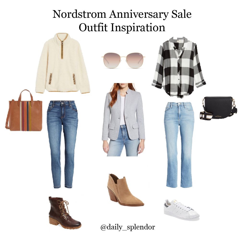 Nordstrom Anniversary Sale - Top Picks | Daily Splendor Life and Style Blog | #nsale #nordstromsale #anniversarysale #saleshopping #denim #Quay #womensblazer #sorelboots #madewell