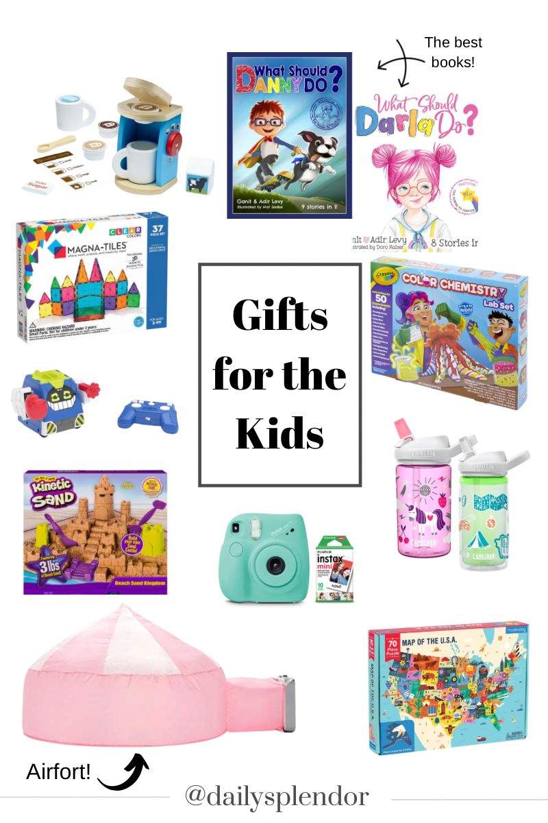 Holiday Gift Guides | Daily Splendor Life and Style Blog | Gifts for Kids #giftgiving #kidsgiftideas #christmaspresents #christmas2020 #giftguide #homebody #giftideas #holidaycheer