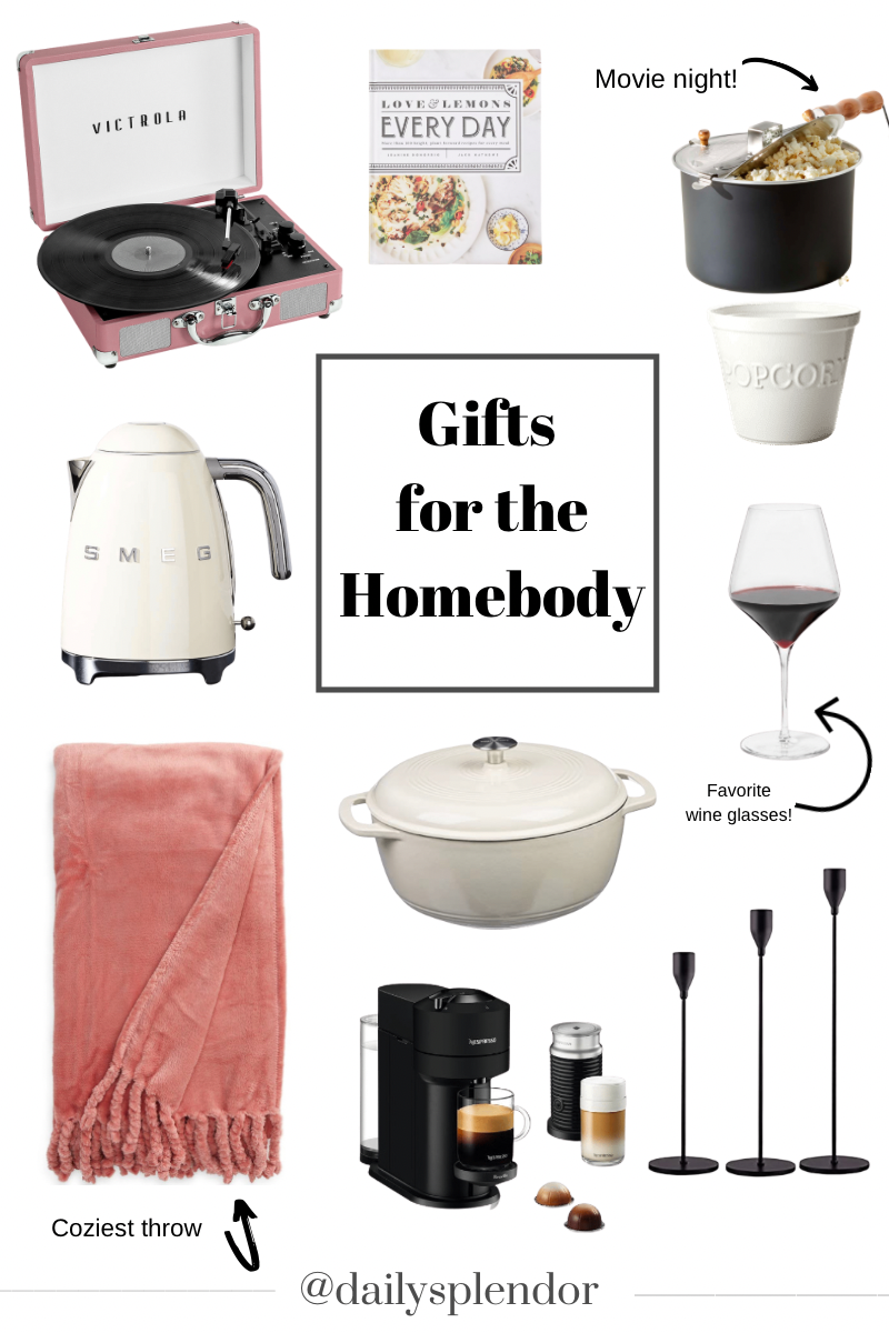Holiday Gift Guides | Daily Splendor Life and Style Blog | Gifts for the Homebody #giftgiving #christmaspresents #christmas2020 #giftguide #homebody #giftideas #holidaycheer