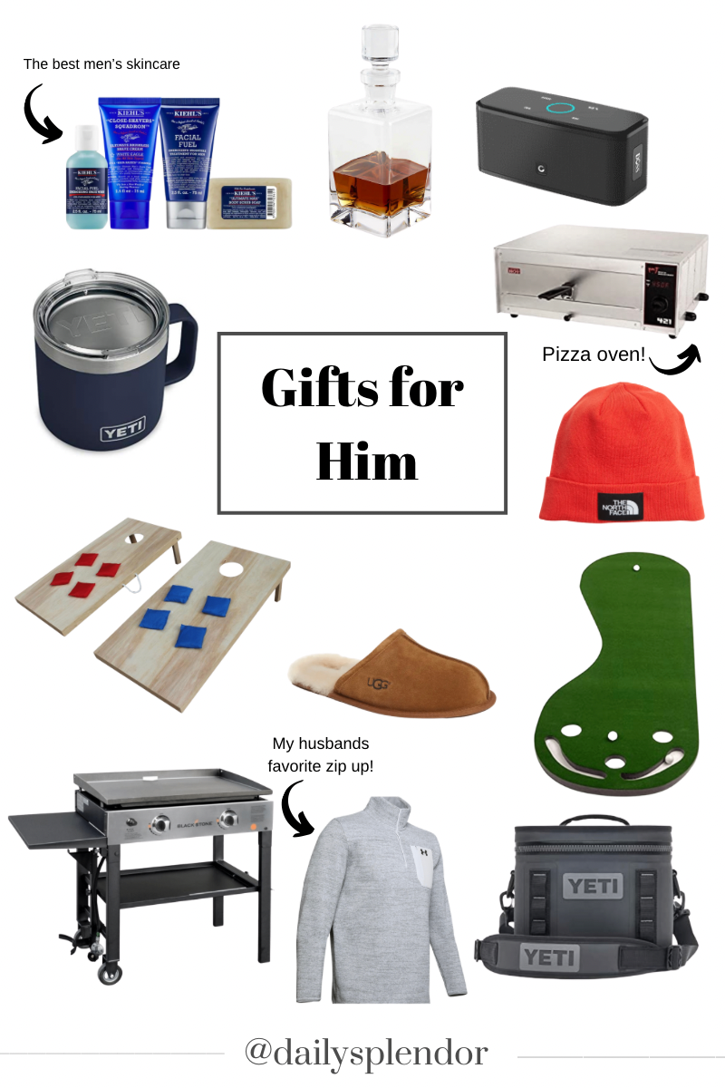 Holiday Gift Guides | Daily Splendor Life and Style Blog | Gifts for Him #giftgiving #mensgiftideas #christmaspresents #christmas2020 #giftguide #homebody #giftideas #holidaycheer