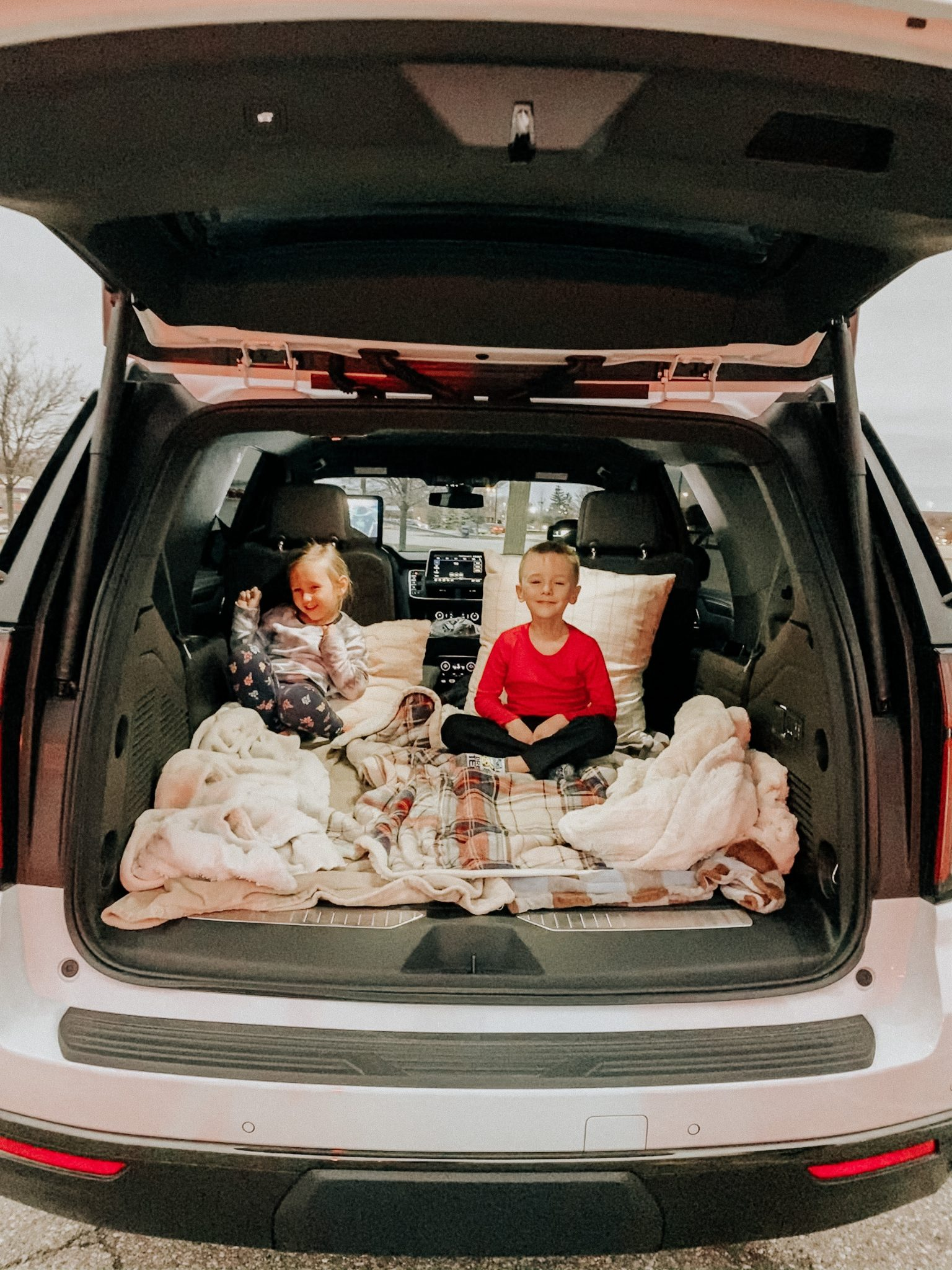 Winter outings with the family | Daily Splendor Life and Style Blog | Drive In Movie #familychristmas #holidayfestivities #familyadventures #chevytahoe #driveinmovie #2020activities #Christmastree #momlife