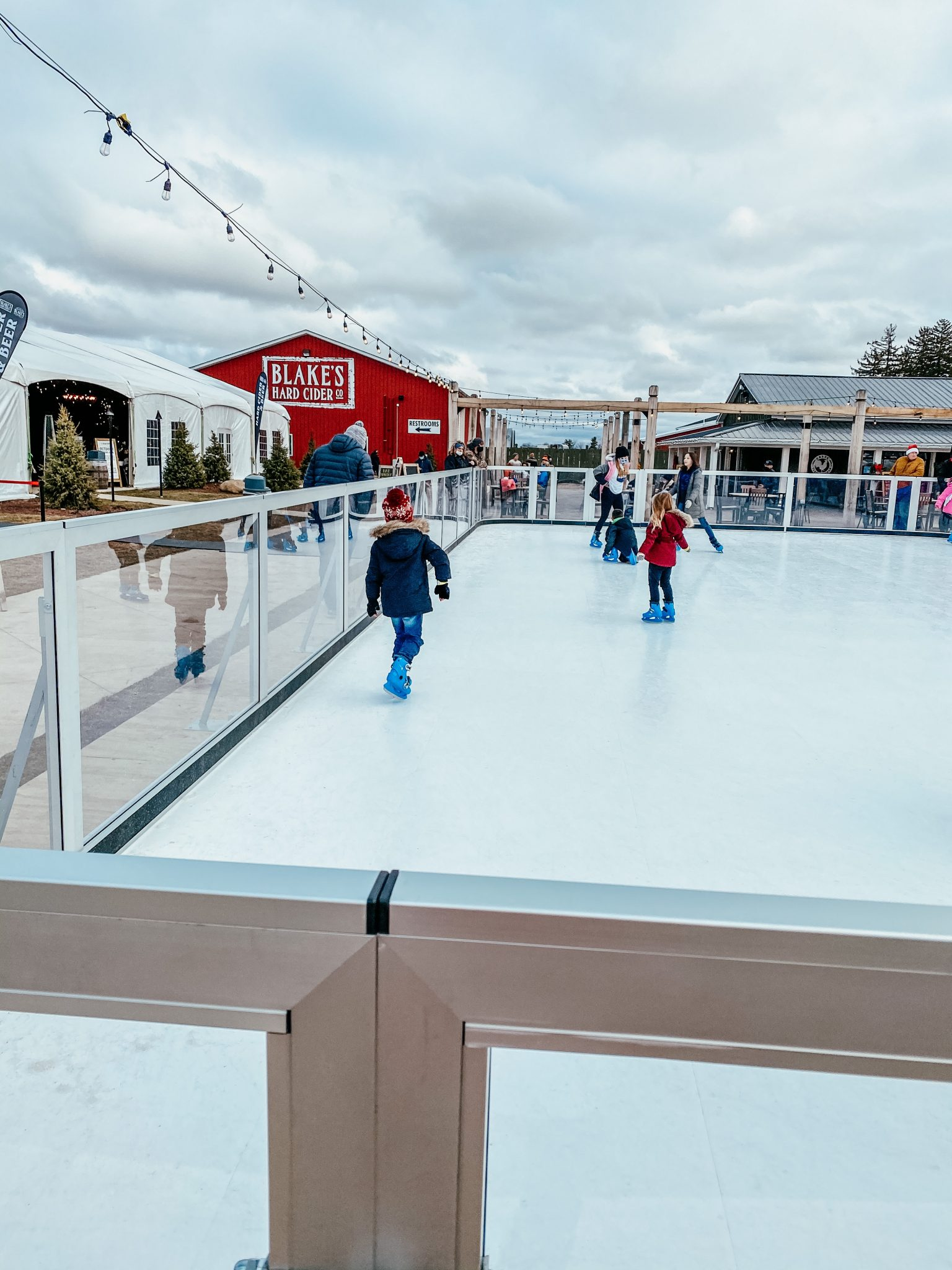 Winter outings with the family | Daily Splendor Life and Style Blog | Ice Skating #familychristmas #holidayfestivities #familyadventures #chevytahoe #2020activities #Christmastree #momlife